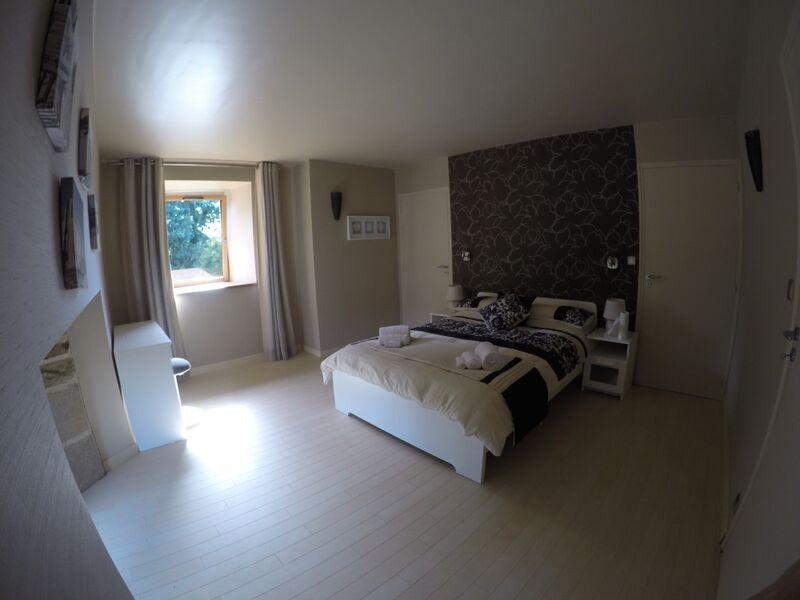 Master bedroom with ensuite shower, double sinks & dressing room (separate toilet)
