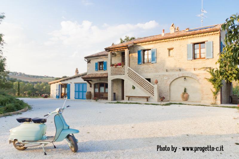 Borgo la Rovere: app. I PAPAVERI, holiday rental in Monte Porzio