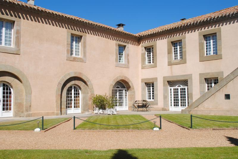 Our courtyard of La Batisse
