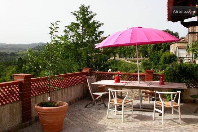 la casa del glicine - Camera Blu, holiday rental in Casciana Alta