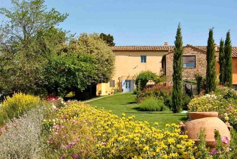 Chianti luxury villa, 5 bedrooms, pool, view, holiday rental in San Pancrazio