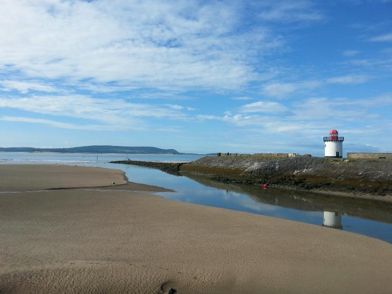 Burry Port Lighthouse & Harbour Entrance