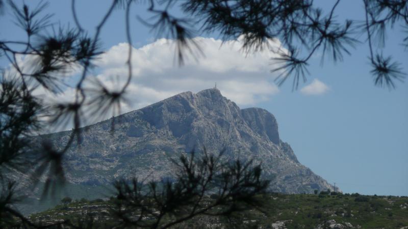 Sainte Victoire Mountain (Paul Cézanne's most prized subject)