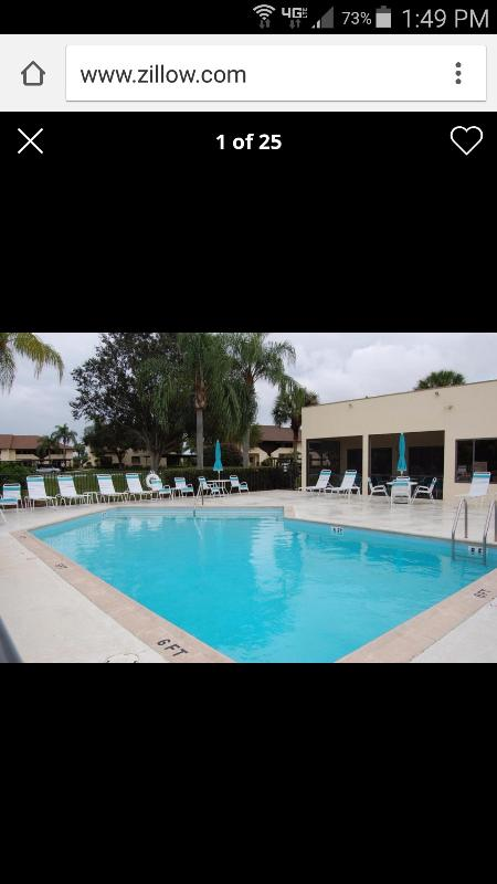 Pool just steps from your condo