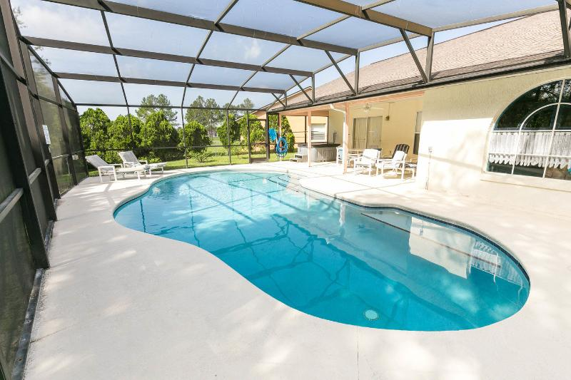 The Pool - heating available for cooler months