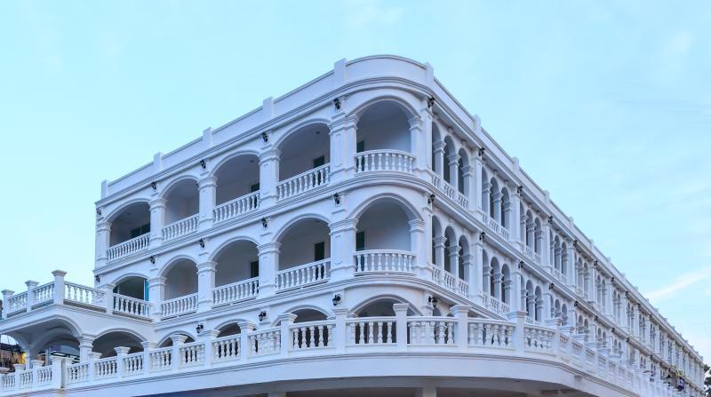 Edificio de estilo portugués