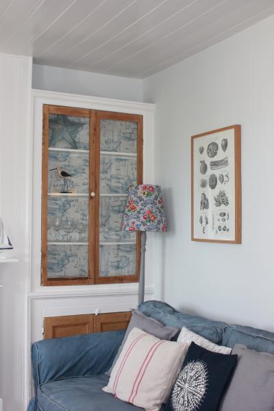Original alcove cupboard in Living room