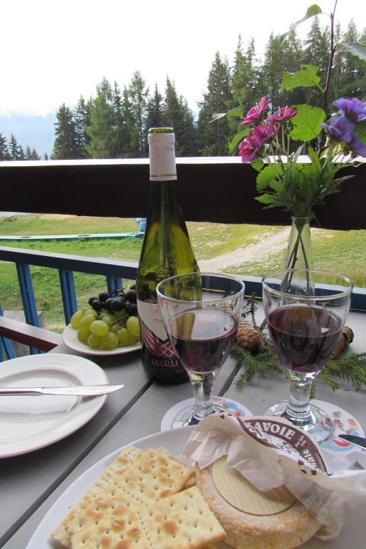 Indulge in the fine local produce and soak up the tranquility and mountain views from your balcony