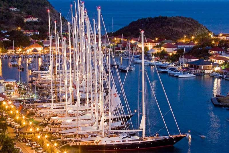 le port de Gustavia