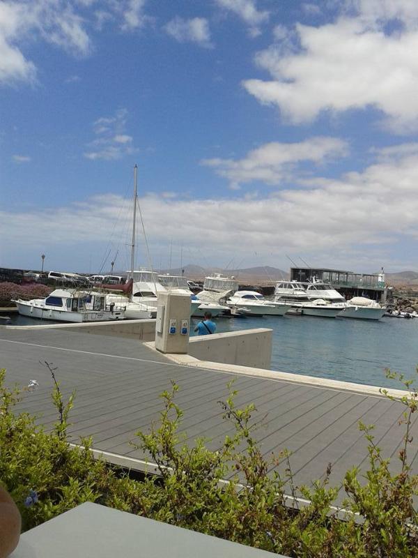 Harbour at Caleta