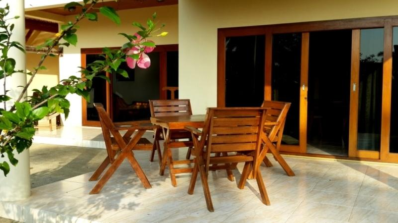 Breakfasts on  your private terrace