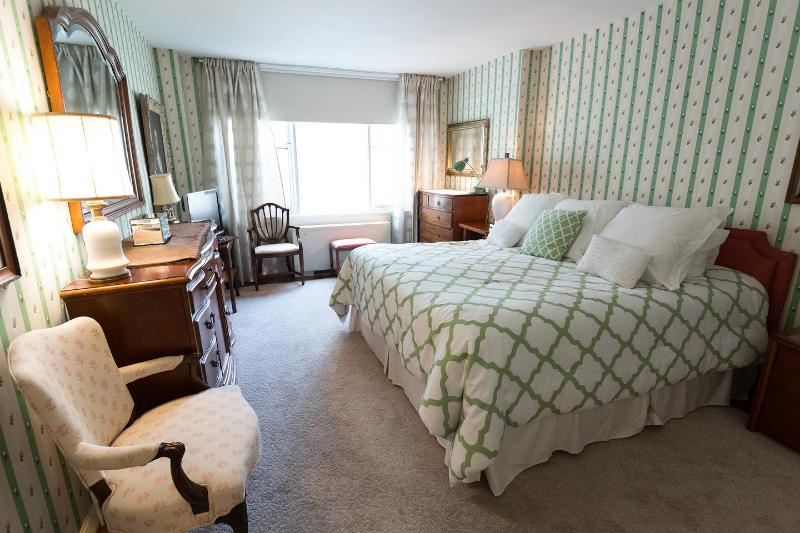The Master Bedroom with King Bed