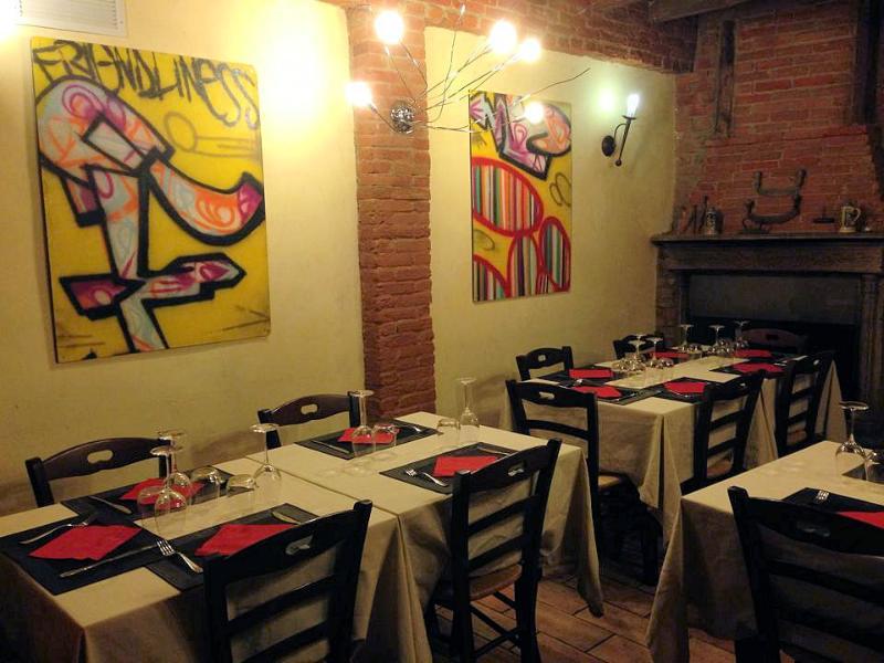 Il ristorante della struttura 'Cucina Undici'