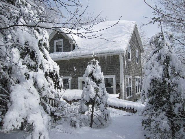 Snowy winter retreat