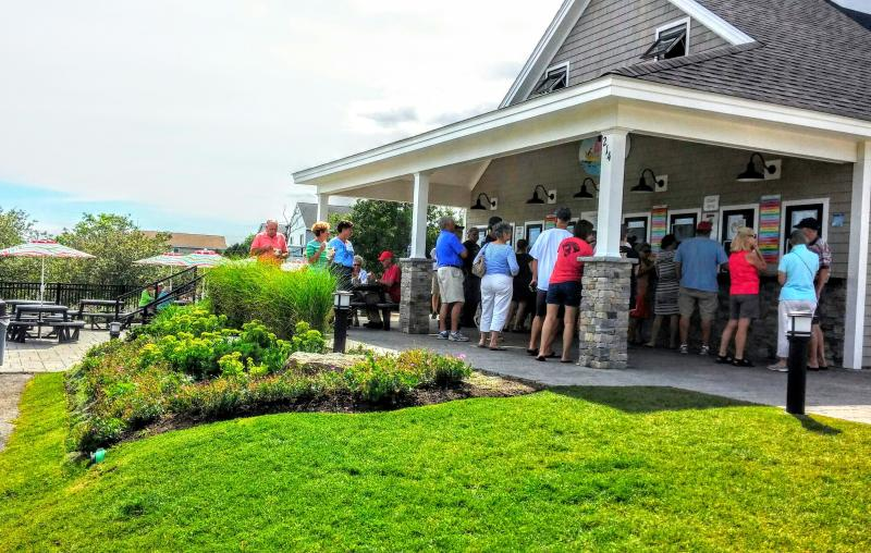 Summer at Dunne's Ice Cream, .3 mile, (formerly Browne's)