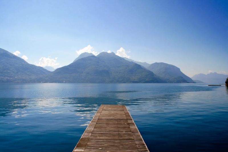 Vistas a lago Como