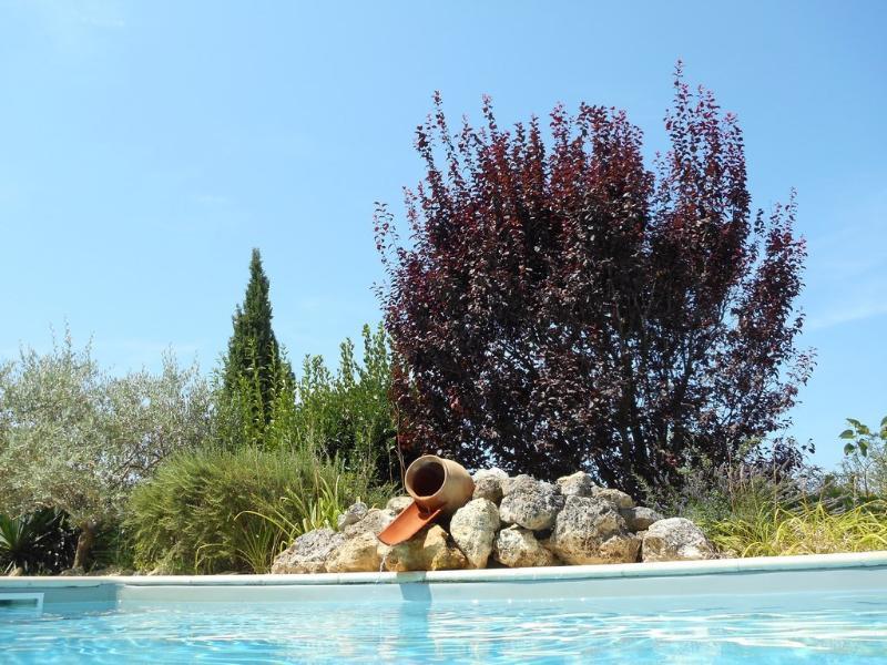 Photo prise depuis la piscine par nos Hôtes !