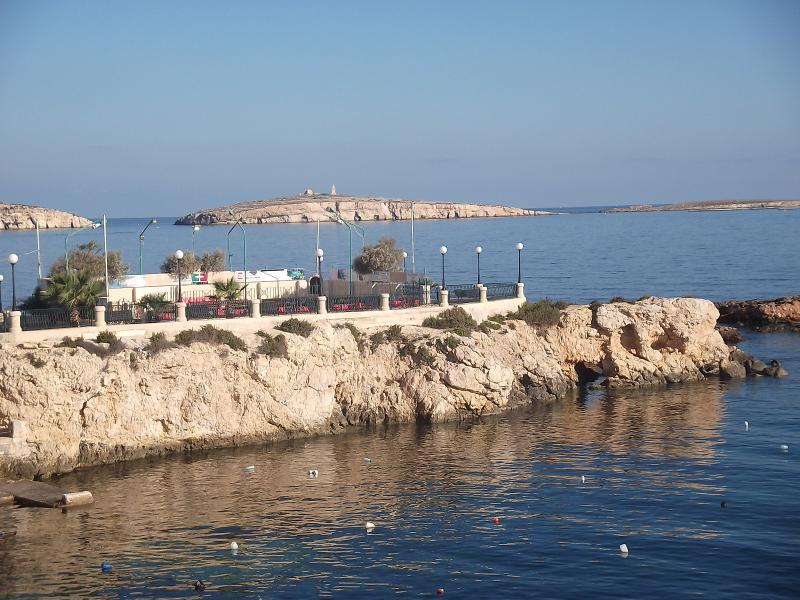 Another penisola for swimmers a couple of minutes away from the apartment