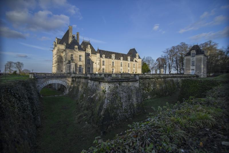 Chateau de Jalesnes; moated home to generations of French aristocracy - A short drive from Saumur.