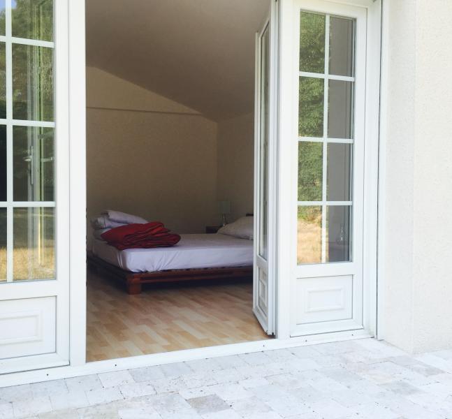 opening on terrace