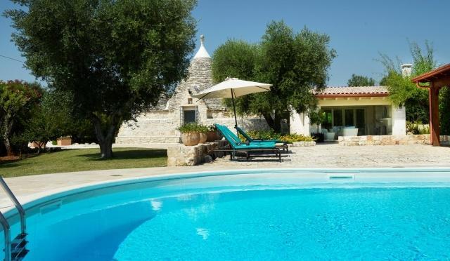 Trulli Stella with private pool and sun terrace
