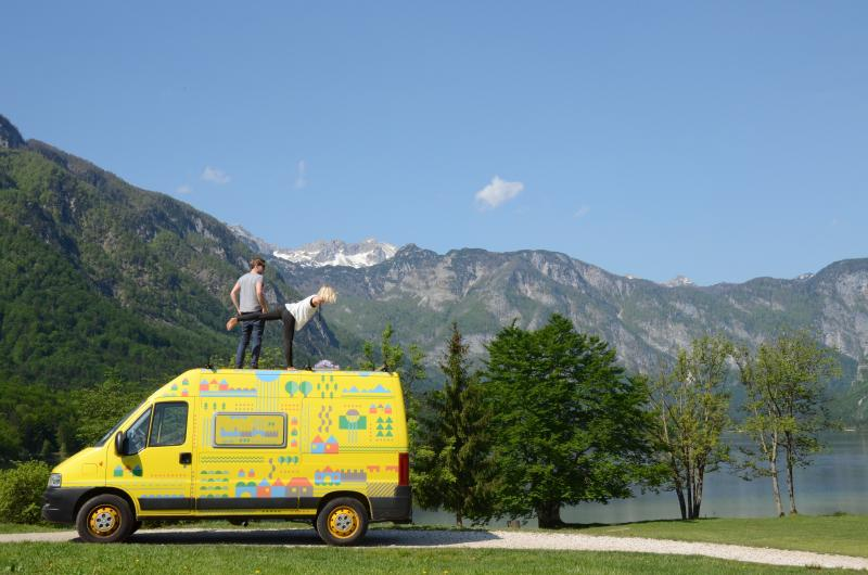 Adventure Camper for 3, casa vacanza a Vrhnika