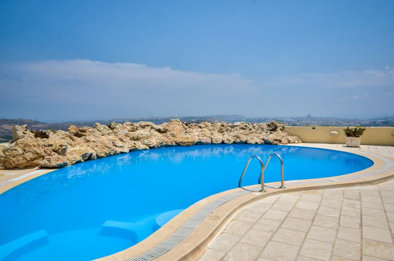 Spectacular views of the Island from the pool area