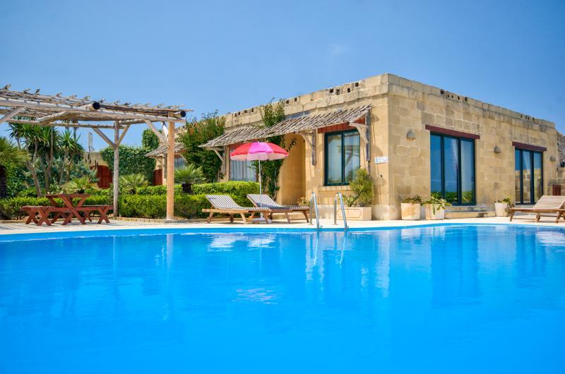 Large swimming pool - measuring 13m x 8.5m