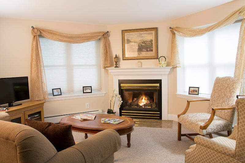 Glynn House Inn: Lincoln Garden Apartment, vacation rental in New Hampton