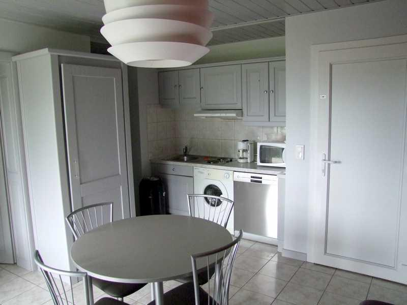 Salle de séjour - coin cuisine