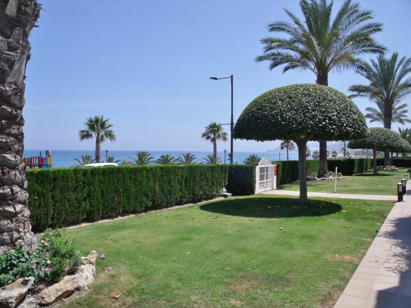 View from terrace to sea