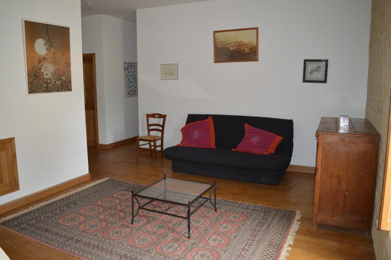 Zone de détente avec canapé lit