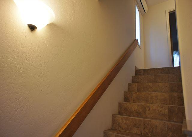 Upstairs to Bedrooms and Bathroom 2