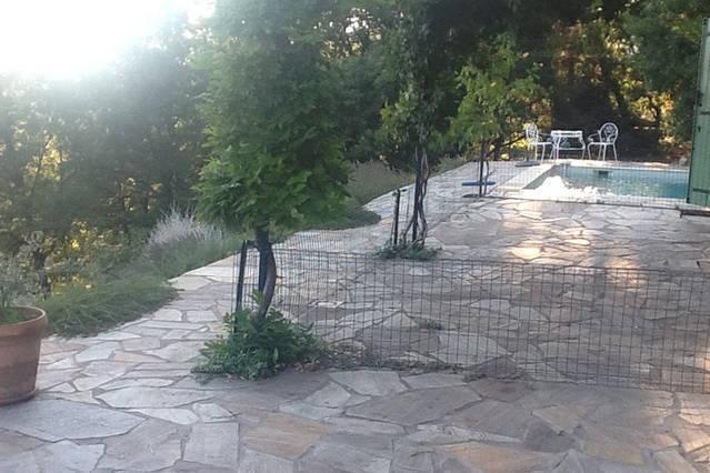 terrace and gazebo