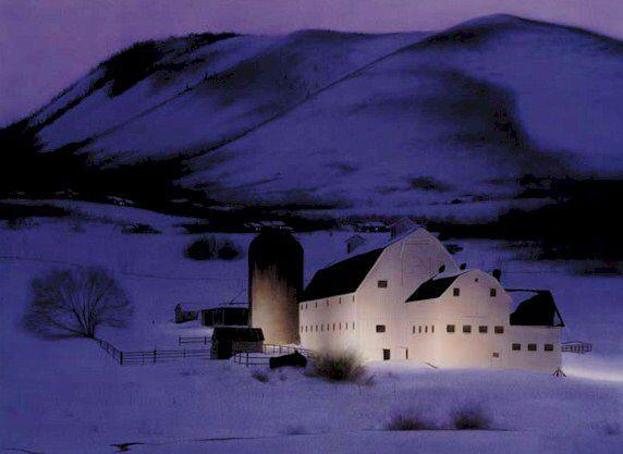 One of the most photographed barns in Utah