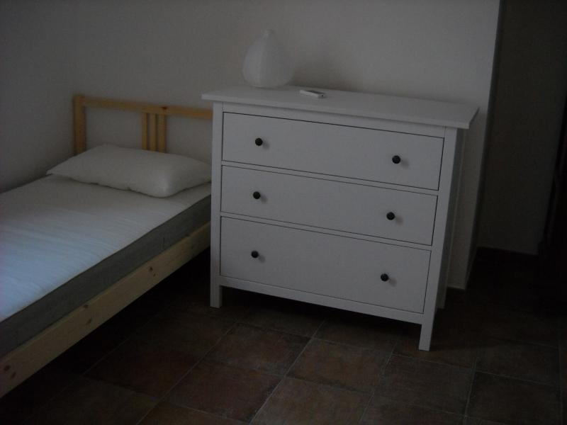 detail of the second bedroom