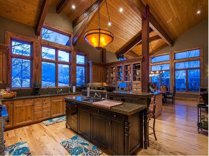 hardwood throughout the home