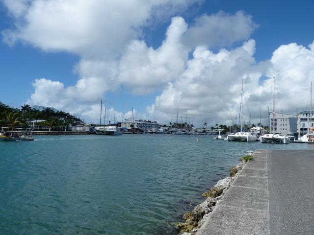 Entrée du port - Marina