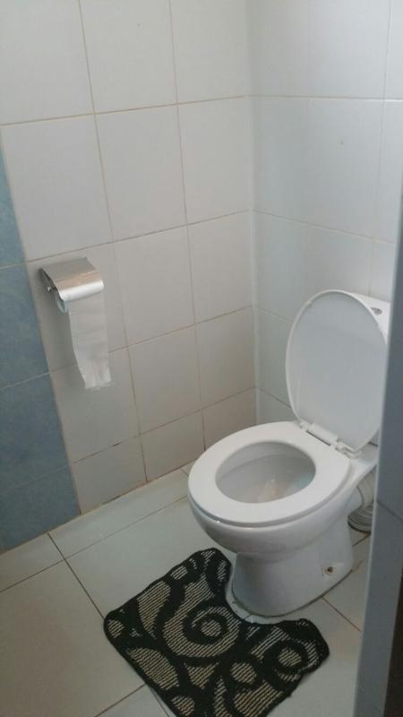 Toilet upstairs