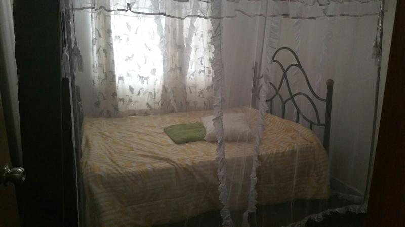 2nd bed room with bed net