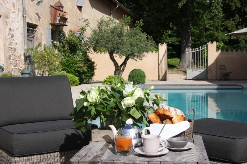 Chateau saint Vincent chambre ' Brouilly ', holiday rental in Beaujeu