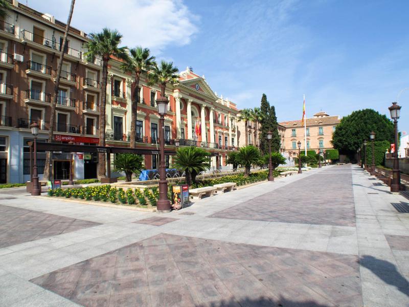 La Glorieta- Plaza del Ayuntamiento de Murcia