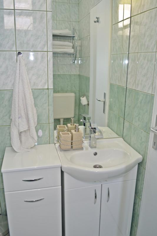 Toilette. Bayview Apartments Tivat Montenegro