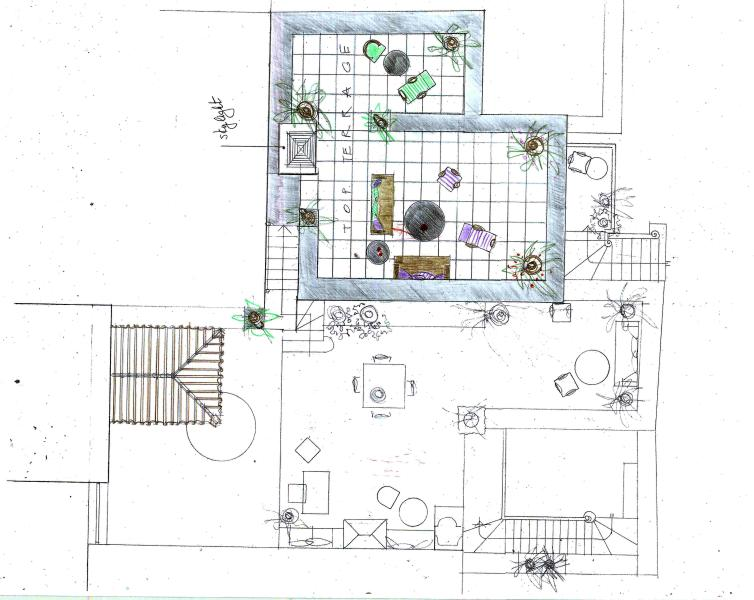 TOP TERRACE PLAN