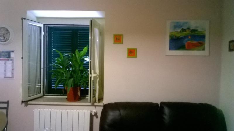 Ambiente cucina soggiorno