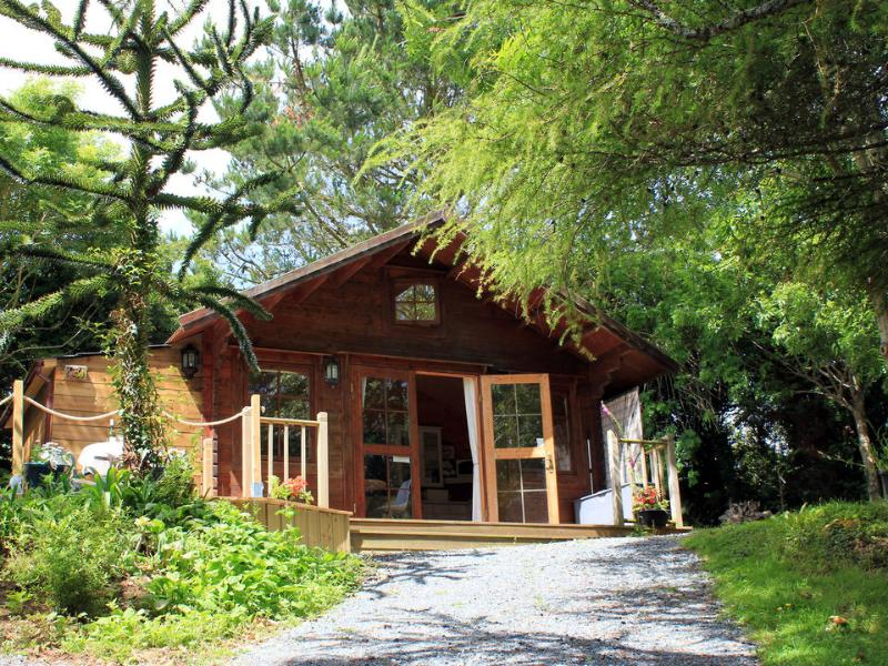 The Cabin affords ample privacy and seclusion