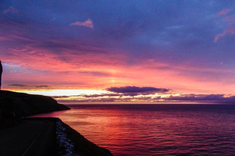 Sunset, Marine Drive