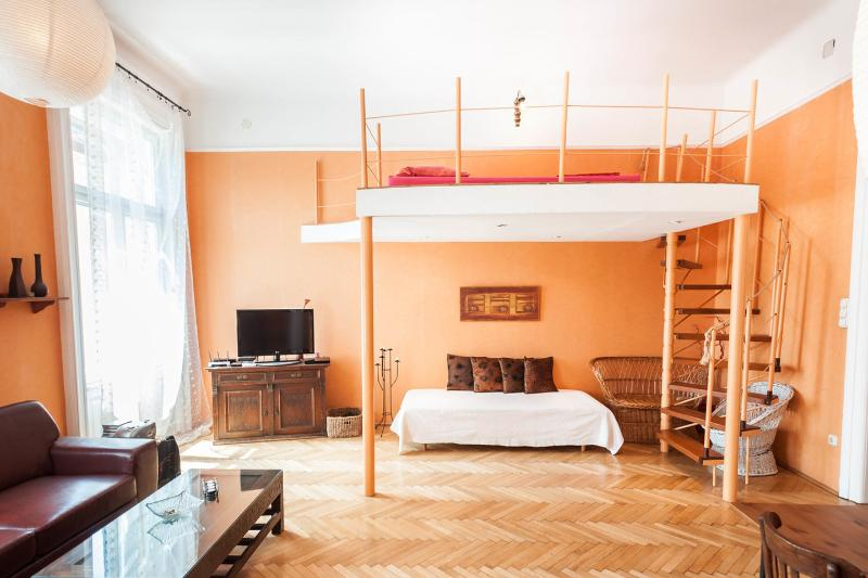 AAAA Great cheerful apartment,  beautifully decorated, vacation rental in Solymar
