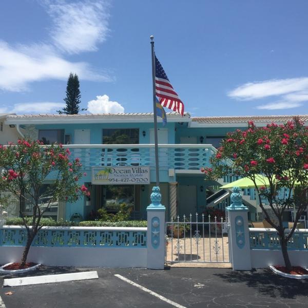 Ocean Villas is located on A1A in Deerfield Beach, FL