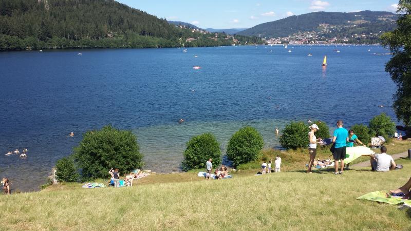 Lac à 200m